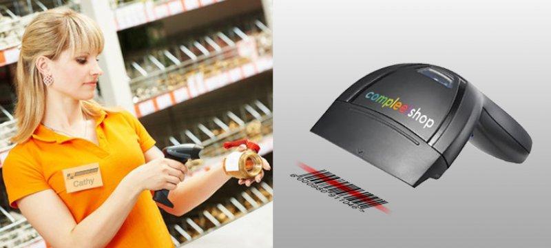 Compleetshop werkt nu ook met een barcode scanner